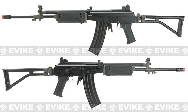 ICS Full Metal ICS-92 Galil AR Airsoft AEG Rifle w/ Side Folding Stock