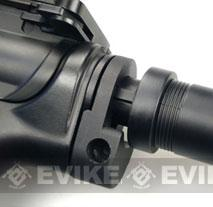 ICS Ambidextrous QD Sling Adapter for ICS M4 Series Airsoft AEG w/ Retractable stock