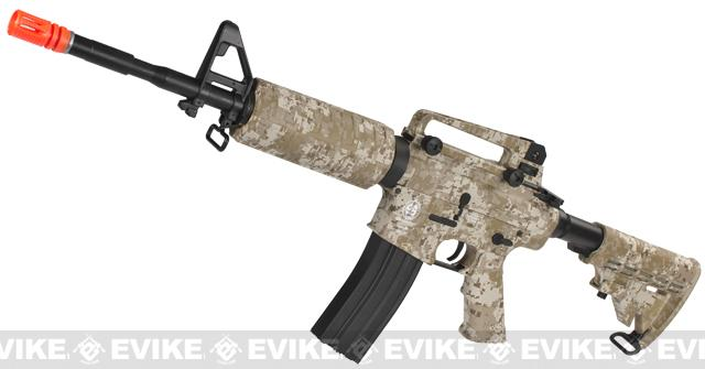 z ICS M4A1 Full Metal Airsoft AEG Rifle - Digi Desert