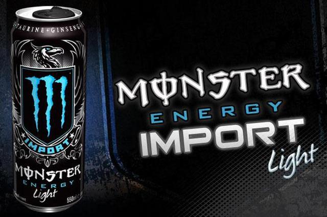 Monster Energy Drink - Import Light