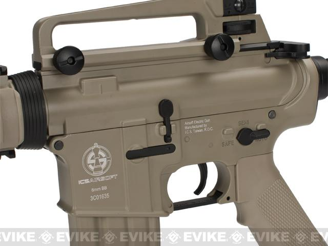 z ICS M4-RIS Full Metal Airsoft AEG Rifle - Tan