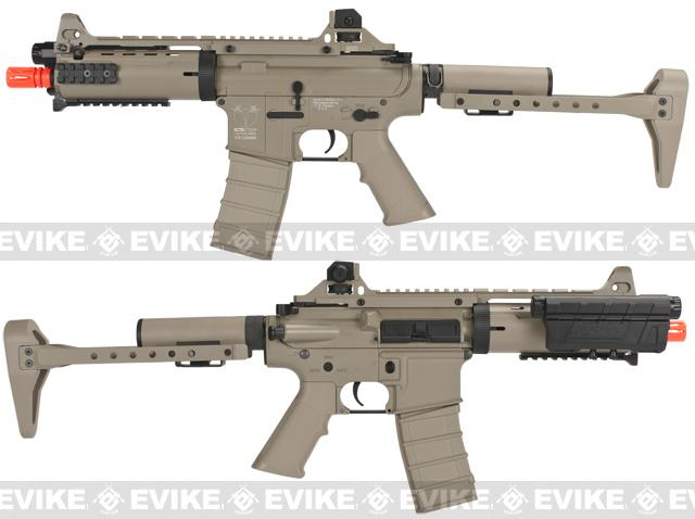 z ICS Full Metal CXP Concept Full Size M4 Airsoft AEG Rifle - Tan