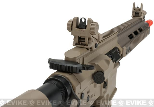 ICS PAR MK3 Carbine 14.5 Proarms Armory Licensed Proline EBB Airsoft AEG Rifle - Tan