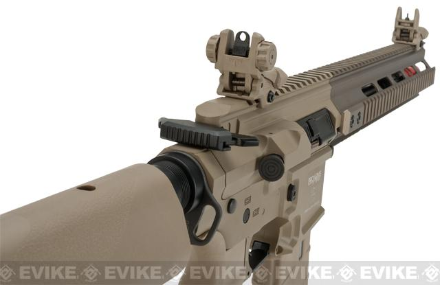 ICS PAR MK3 CQB 10.5 Proarms Armory Licensed Proline EBB Airsoft AEG Rifle - Tan