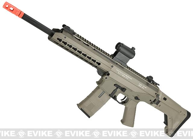 ICS Pro Line CXP-APE Carbine Electric Blowback Airsoft AEG Rifle (Color: Tan)