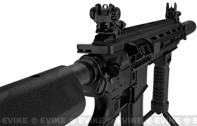 ICS CXP16L Full Metal Airsoft AEG Rifle w/ Mock Silencer - Black