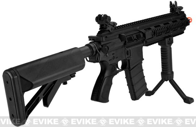 ICS CXP-16L Sportline Airsoft AEG Rifle w/ Split Metal Gearbox - Black