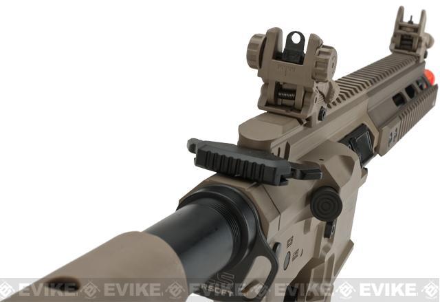 ICS PAR MK3 C MTR 10.5 Proarms Armory Licensed Proline EBB Airsoft AEG Rifle - Tan