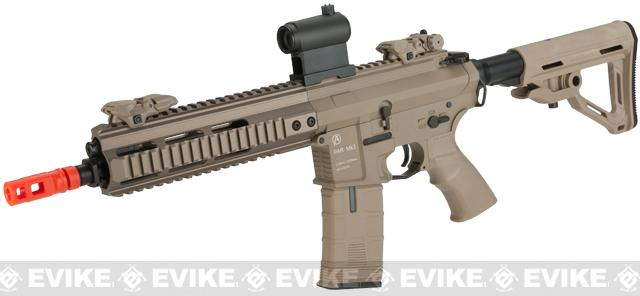 ICS PAR MK3 C MTR 10.5 Proarms Armory Licensed Proline EBB Airsoft AEG Rifle - Tan