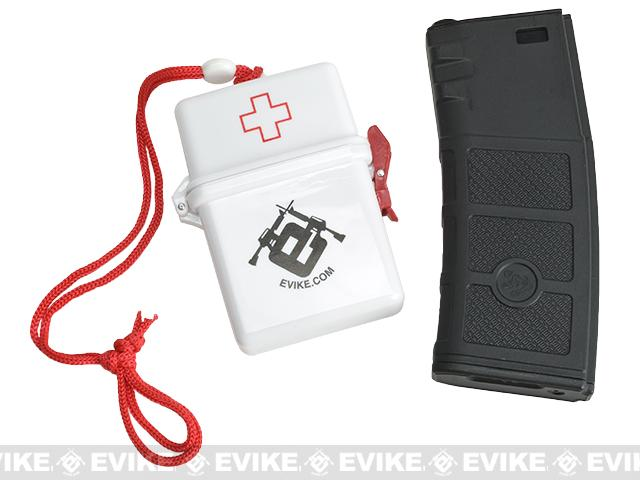Evike.com Waterproof Basic Travel First Aid Kit - Red