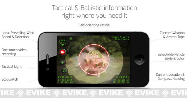 z InteliScope PRO Rifle Sighting System for iPhone / Android Smart Phones