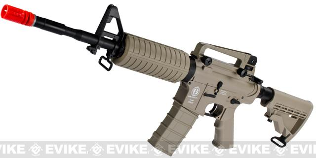 z ICS Sportline M4A1 Airsoft AEG Rifle - Tan