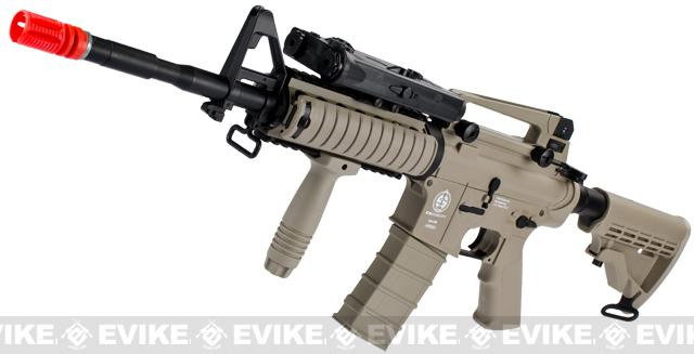 z ICS Sportline M4 RIS Airsoft AEG Rifle - Tan