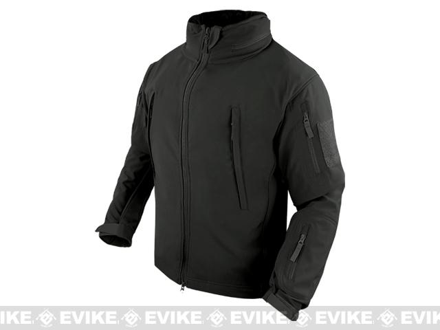 Condor Summit Tactical Softshell Jacket - Black (Small)