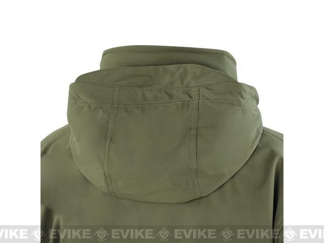Condor Summit Tactical Softshell Jacket - Tan (Size: Medium)