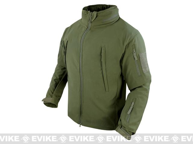 z Condor Summit Tactical Softshell Jacket - OD Green (Size: Medium)