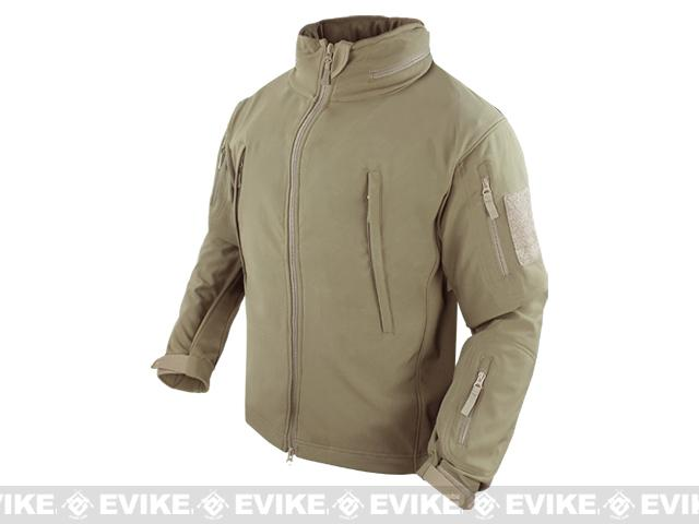 Condor Summit Tactical Softshell Jacket - Tan (Medium)