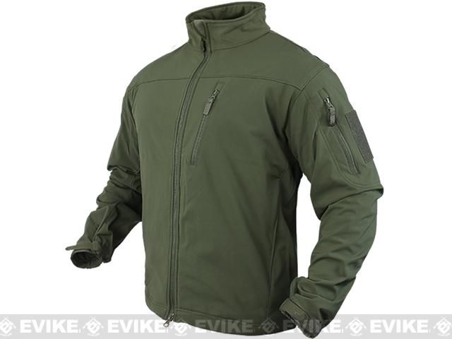 Condor Tactical Phantom Soft Shell Jacket - OD Green (Large)