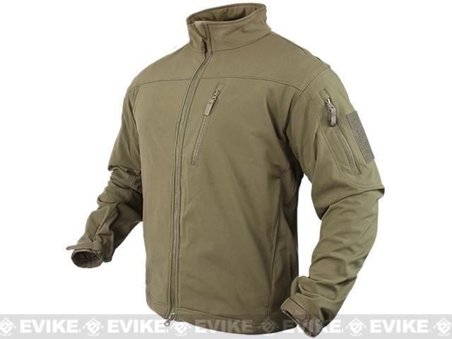 Condor Tactical Phantom Soft Shell Jacket - Tan (Size: Small)