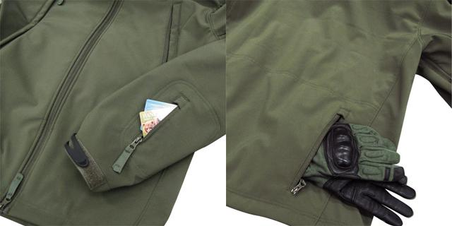 Condor Summit Zero Lightweight Soft Shell Jacket - OD Green (Size: Small)