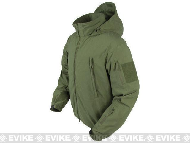 Condor Summit Zero Lightweight Soft Shell Jacket - OD Green (Size: X-Large)