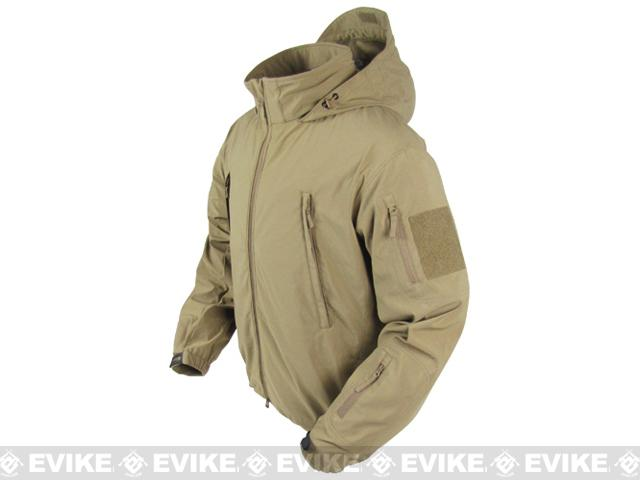 Condor Summit Zero Lightweight Soft Shell Jacket - Tan (Size: Small)