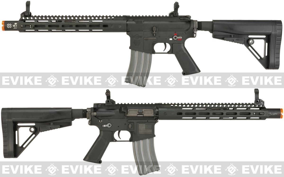 JAG Arms Full Metal PHX15 Crusader Airsoft AEG - Black