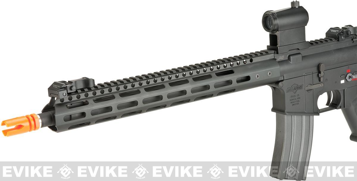 JAG Arms Full Metal PHX15 RECCE Airsoft AEG - Black