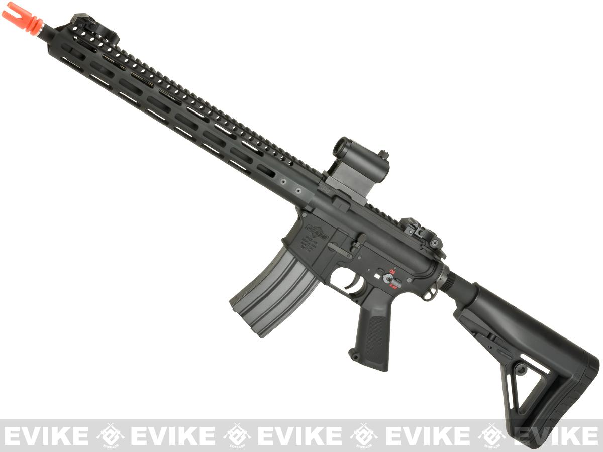 JAG Arms Full Metal PHX15 RECCE Airsoft AEG - Black