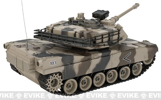 1:20 Scale RC Airsoft Battle Tank - M1A2 Abrams (Desert Camo)