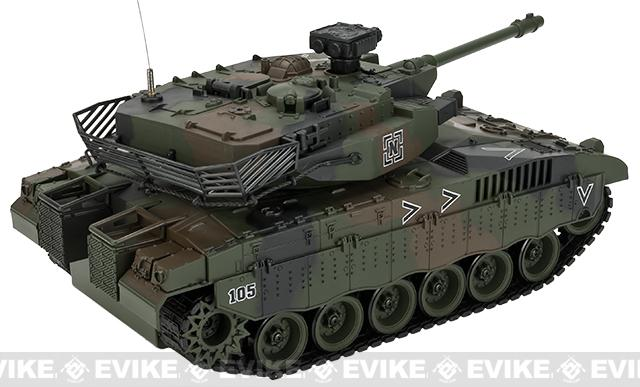 1:20 Scale RC Airsoft Battle Tank - Israeli Merkava (Woodland Camo)