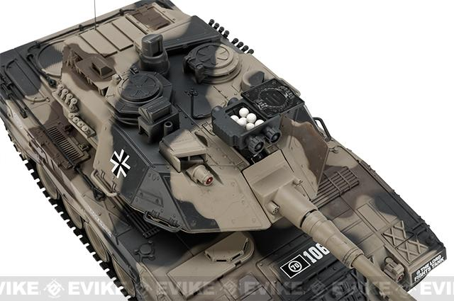 1:20 Scale RC Airsoft Battle Tank - Leopard 2 (Desert Camo)