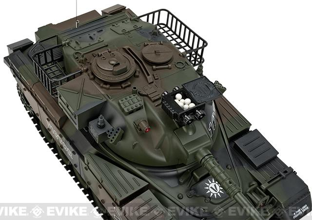 1:20 Scale RC Airsoft Battle Tank - M60 (Woodland Camo)