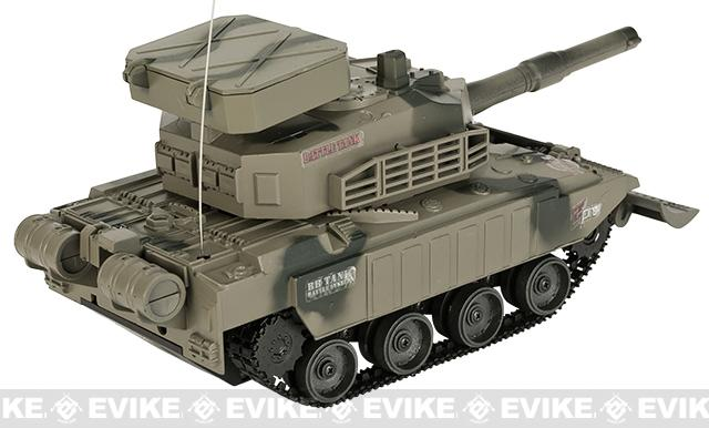 Miniature RC Airsoft Battle Tank - Type 4 (Desert Camo)