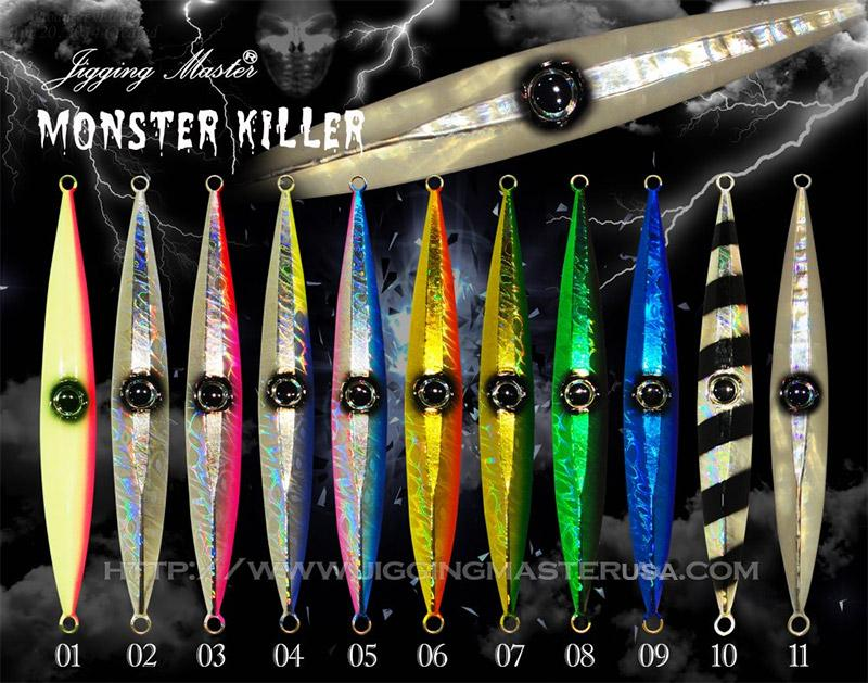 Jigging Master Monster Killer Jig #4 (Weight: 80g)