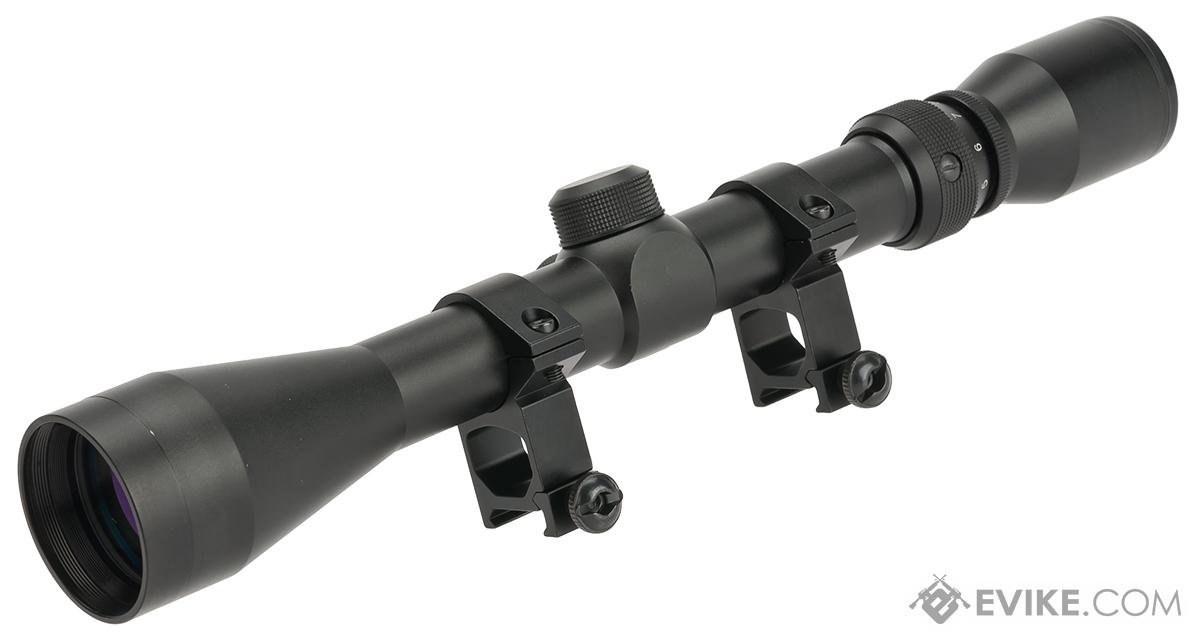 3-9X40 Professional Scope for Airsoft Rifles with Scope Rings