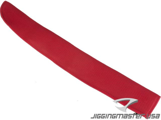 Jigging Master Rod Sock Fishing Rod Protector (Color: Red)