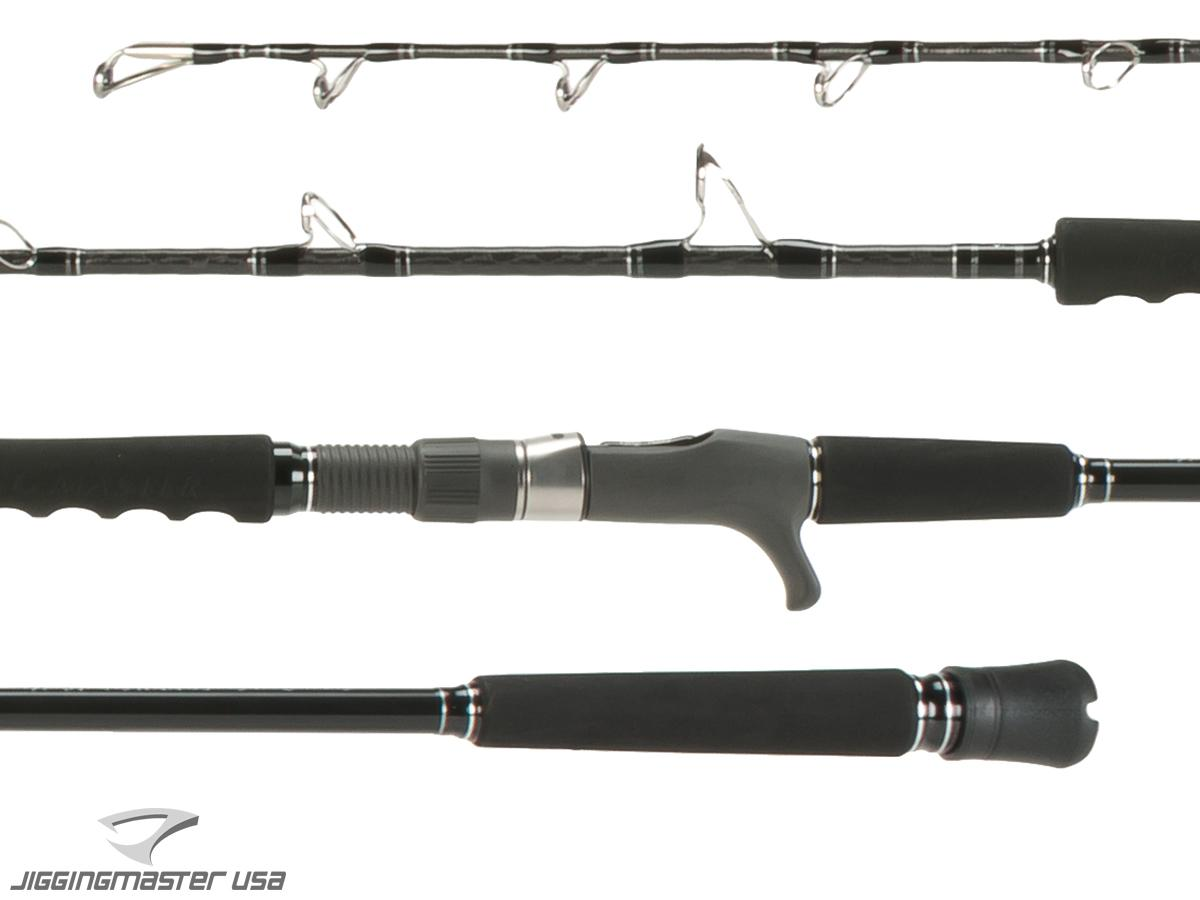 Jigging Master Super Deep Sea Series Fishing Rod (Model: 50B XXH SPIRAL GUIDE)