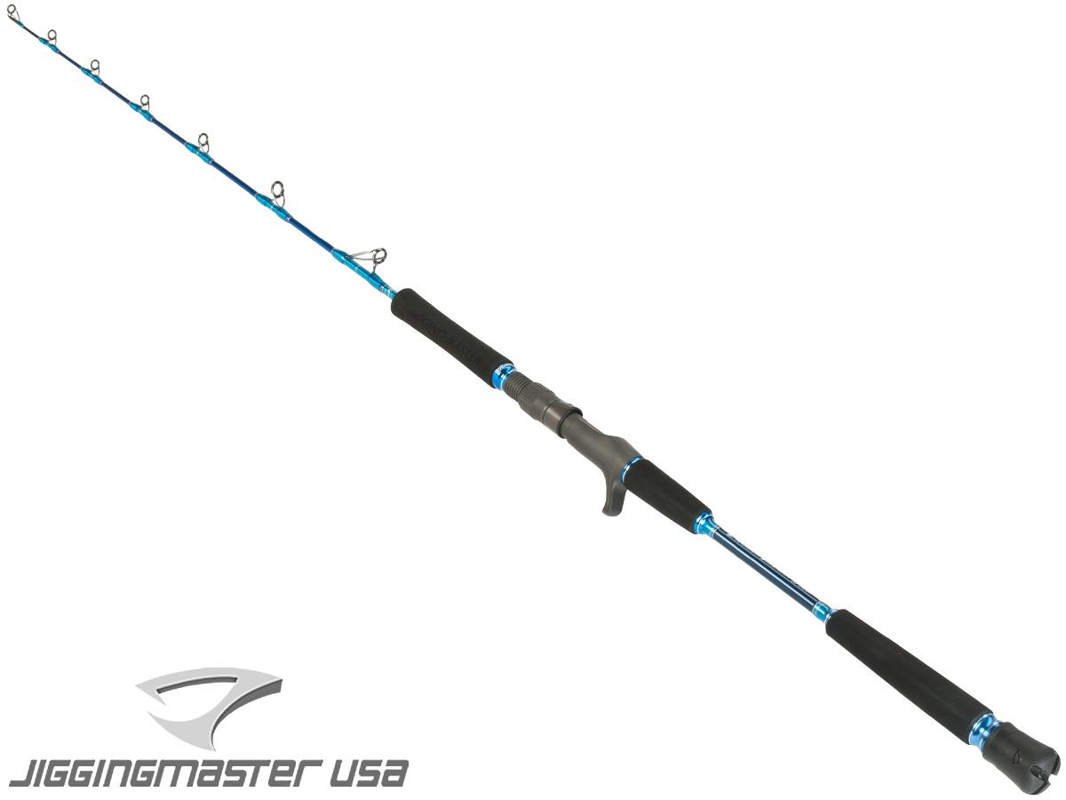 Jigging Master Evolution Titanium II Rod - Conventional/Overhead (Model: 250B Blue)