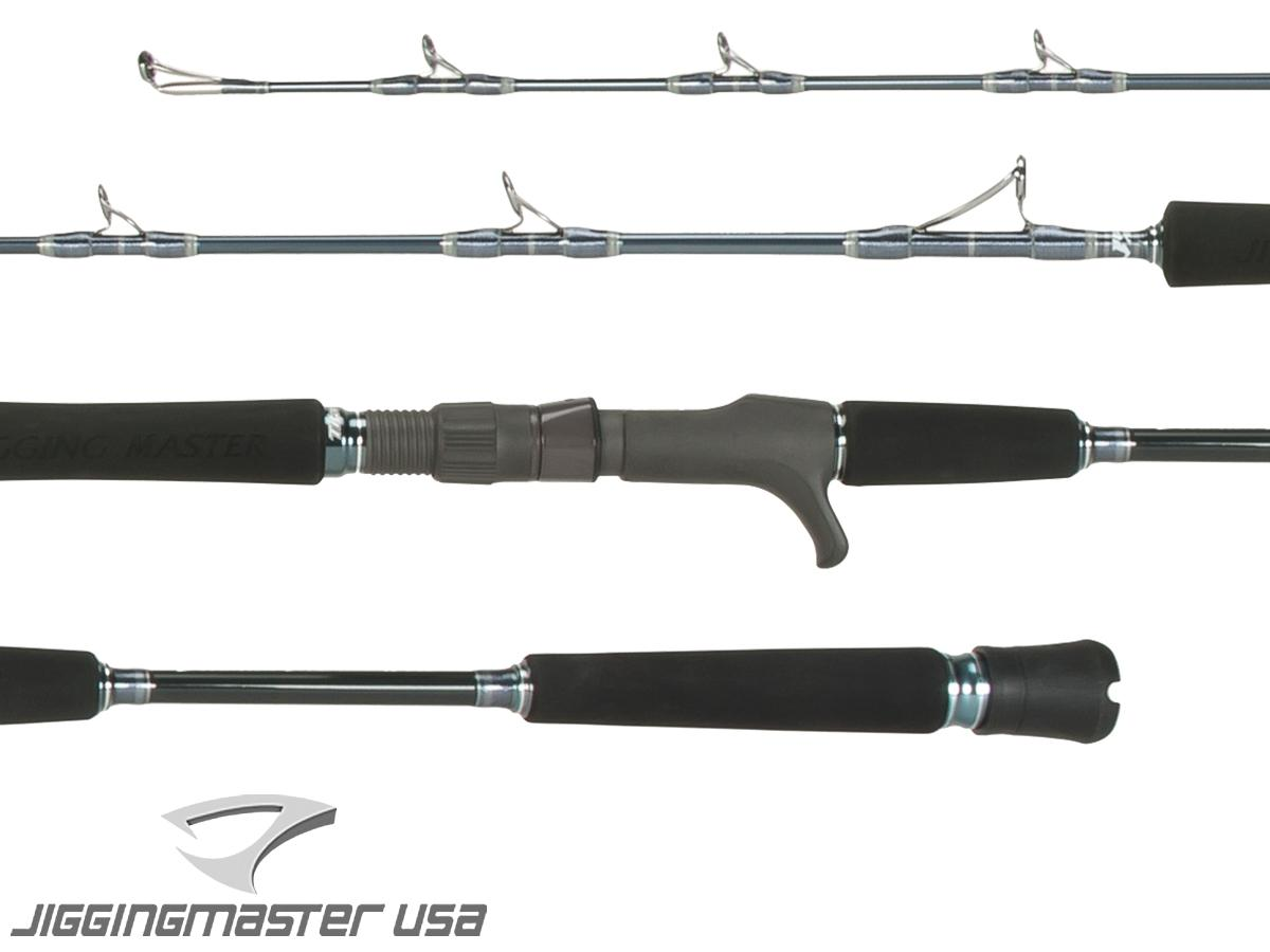 Jigging Master Evolution Titanium II Rod - Conventional/Overhead (Model: 350B Gray)