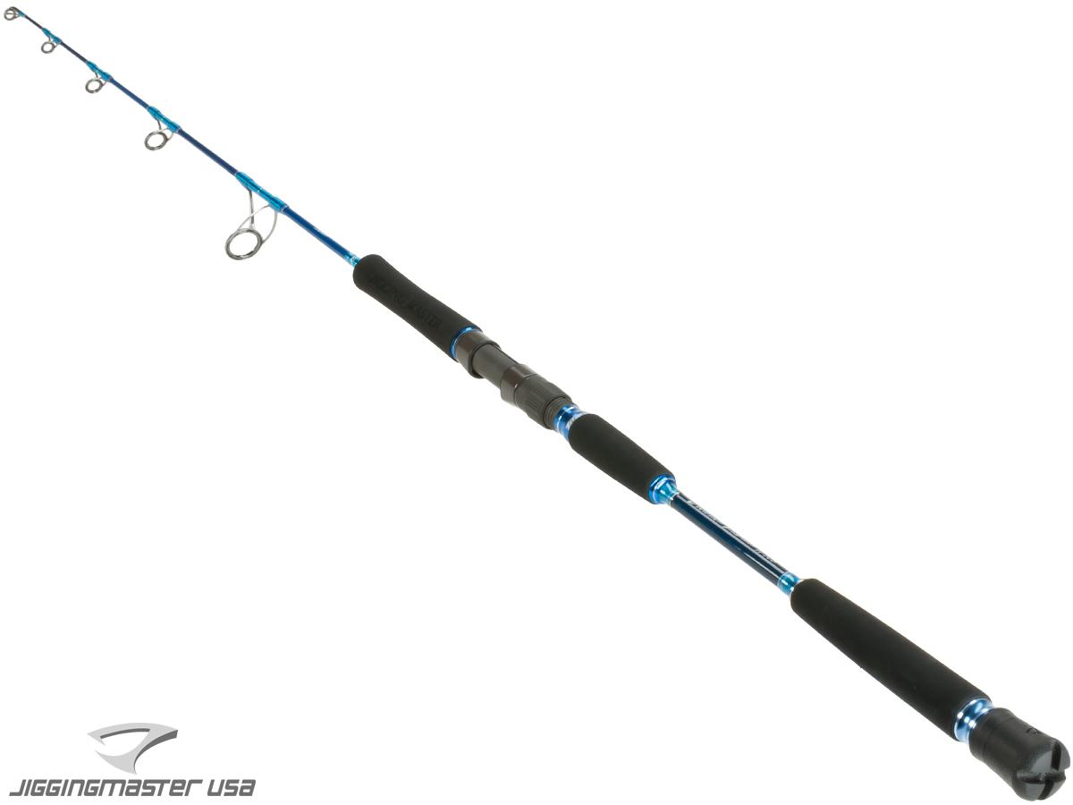 z Jigging Master Evolution Titanium II Rod - Spinner / Underhead (Model: 250S Blue)