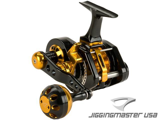 Jigging Master UnderHead Reel - Black / Gold (Size: PE3)