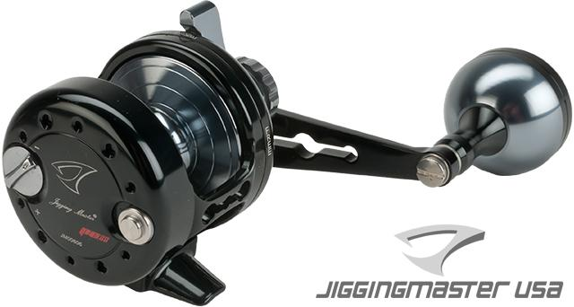 Jigging Master Power Spell Fishing Reel - Black / Gray (Size: PE2)