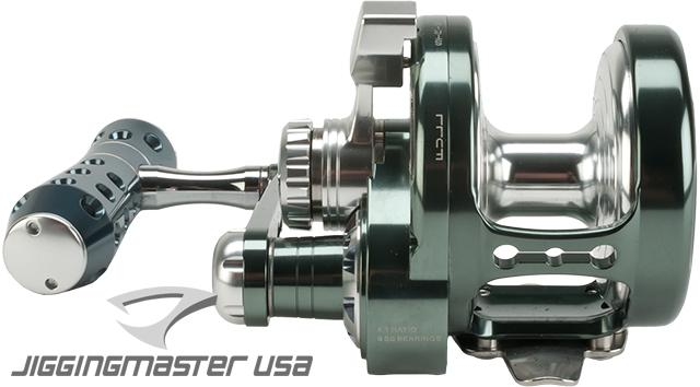 Jigging Master Power Spell Fishing Reel - Gray / Silver (Size: PE5)