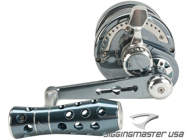 Jigging Master Power Spell Fishing Reel - Gray / Silver (Size: PE5N / Narrow)