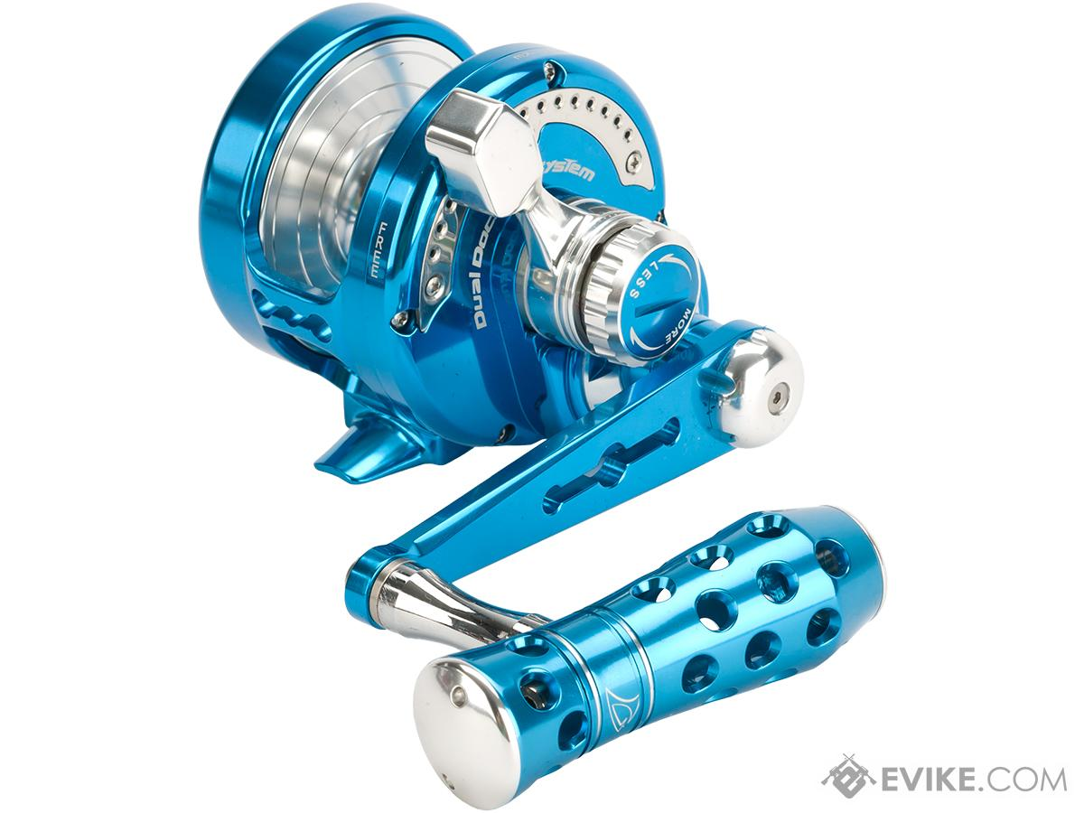 Jigging Master Power Spell Fishing Reel - Blue / Silver (Size: PE5N / Narrow)