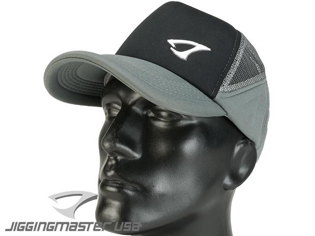 Jigging Master Extreme 3D Fishing Ball Cap (Color: Black/Gray)