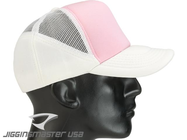 Jigging Master Extreme 3D Fishing Ball Cap - White/Pink
