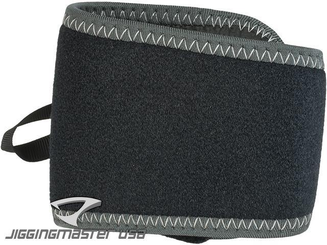 Jigging Master Quad Fishing Rod Retention Belt - Black/Grey