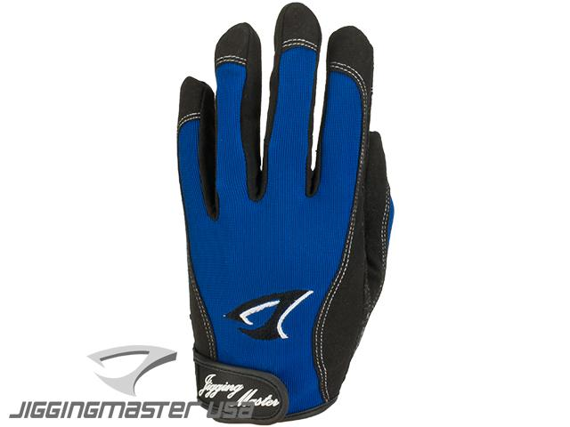Jigging Master 3D Monster Game Glove - Blue (Size: Medium)